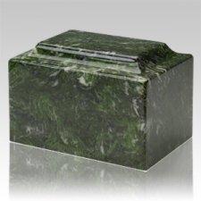 Verde Marble Keepsake Cremation Urn