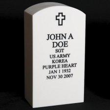 Veteran Whitestone Cremation Urn