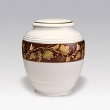 Victorian Porcelain Cremation Urn