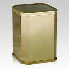 Victorious Bronze Cremation Urn