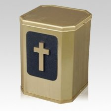 Victorious Modern Cross Urn