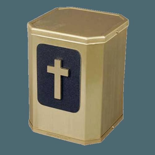 Victorious Modern Cross Urn