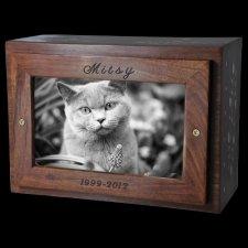 Vine Photo Pet Cremation Urn