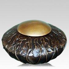 Vines Bronze Pet Cremation Urn