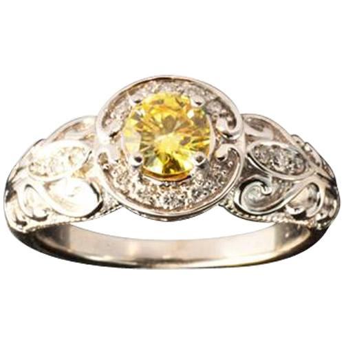 Vintage Semi-Set Ring