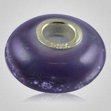 Violet Elegance Cremation Ash Bead