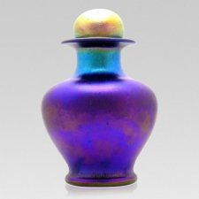 Violet Glass Cremation Urns