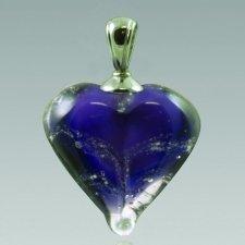Violet Love Cremation Ash Pendant