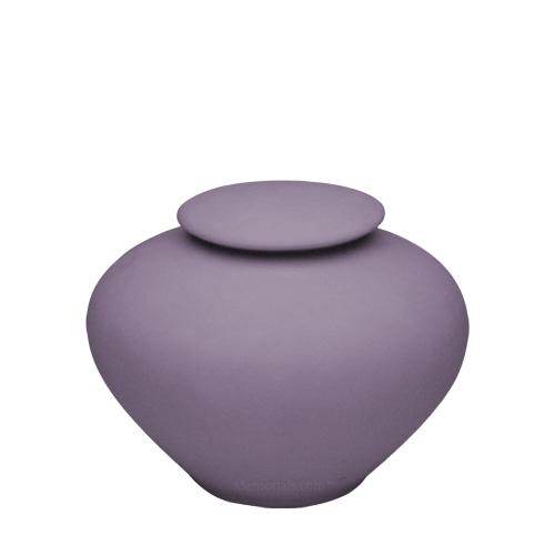 Violet Ray Medium Porcelain Clay Urn