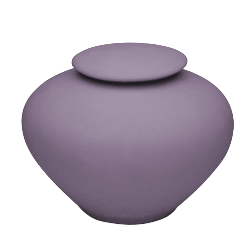 Violet Ray Large Porcelain Clay Urn