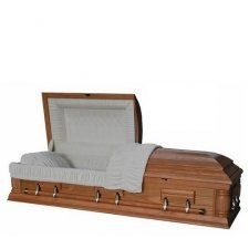 Virtue Wood Casket