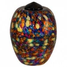 Vivid Glass Cremation Urn