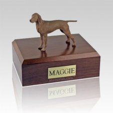 Vizsla Large Dog Urn