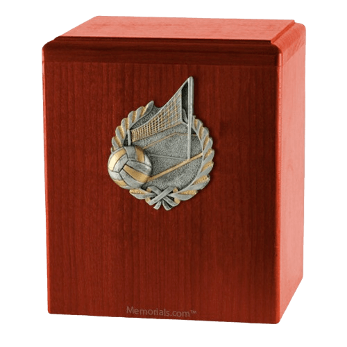 Volleyball Cherry Cremation Urn