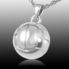 Volleyball Cremation Pendant III