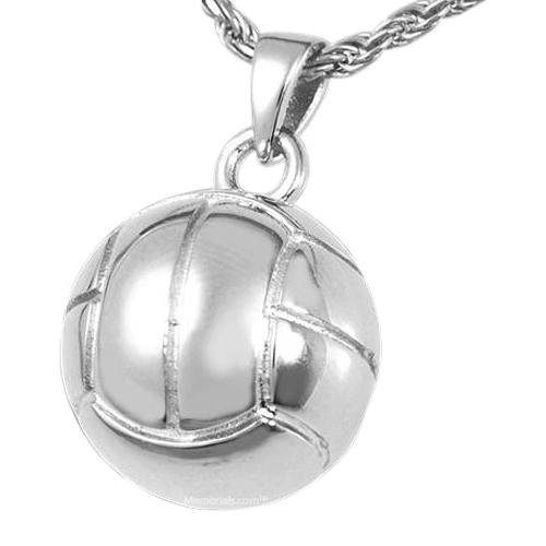 Volleyball Cremation Pendant