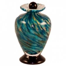 Vortex Glass Pet Keepsake Urn
