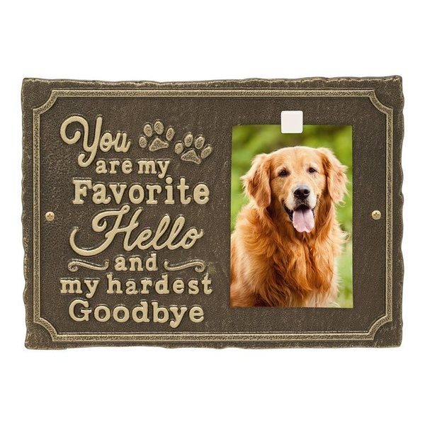 Loyalty Pet Memorial Plaque