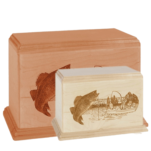 Walleye Wood Urns