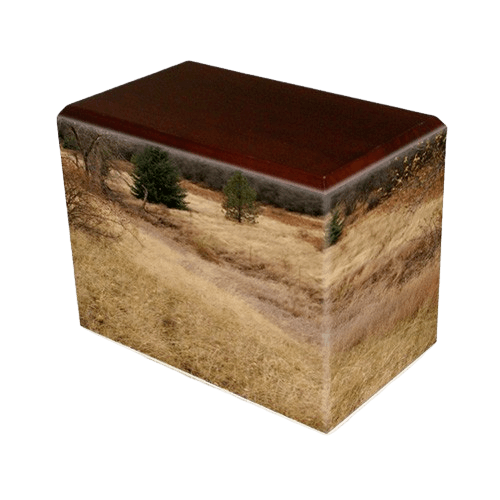 Hunting Grounds Walnut Child Cremation Urn