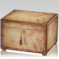 Wanderlust Wood Cremation Urn