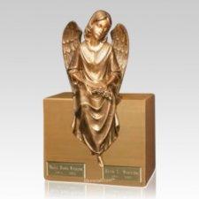 Watchful Angel Companion Urn