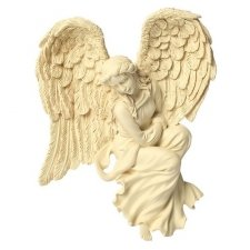 Watchful Frame Accent Keepsake Angel