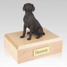 Weimaraner Bronze Dog Urns