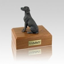 Weimaraner Gray Medium Dog Urn