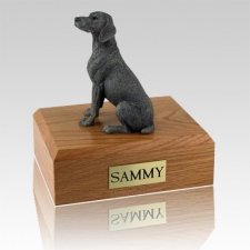 Weimaraner Gray Dog Urns