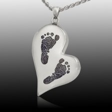 Whimsical Heart Cremation Print Keepsakes