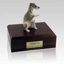 Whippet Gray Dog Urns