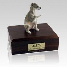 Whippet Gray Dog Urns