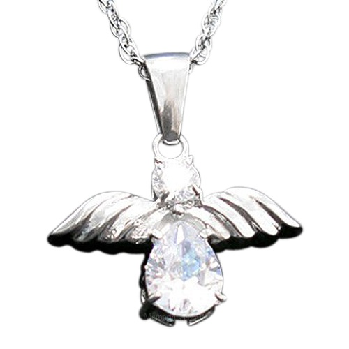 White Angel Cremation Jewelry