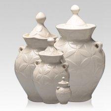 White Dream Cremation Urns
