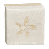 White Hemp Large Biodegradable Urn