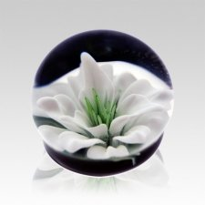 White Lily Ash Glass Heirloom