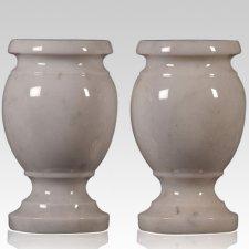 White Small Marble Vase