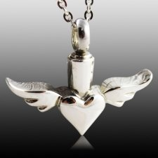 Wings Cremation Jewelry