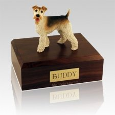 Wire Fox Terrier Dog Urns