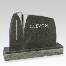 Wisdom Companion Granite Headstone