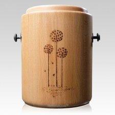 Wish Wood Cremation Urn