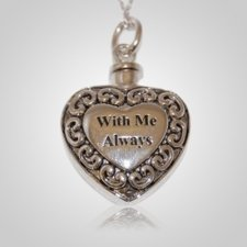 With Me Heart Keepsake Pendant