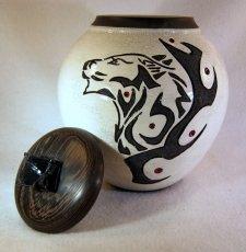 Wolf Pet Cremation Urn