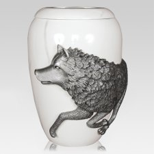 Wolf Spirit Cremation Urns