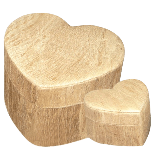 Wood Grain Unity Biodegradable Urns