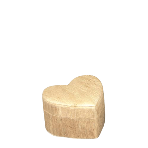 Wood Grain Unity Small Biodegradable Urn