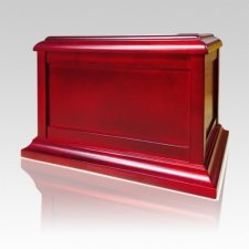 Wooden Chest Cherry Cremation Urn