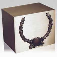 Wreath Shield Cremation Companion Urn