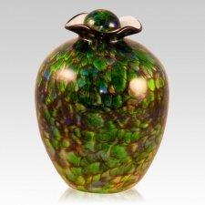 Xanadu Glass Cremation Urn